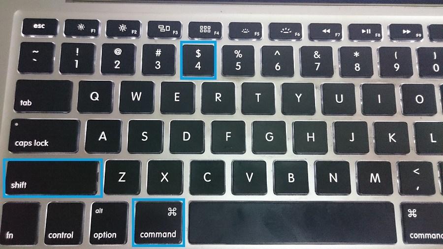 shift command 4 - save portion screenshot mac, how to print screen mac
