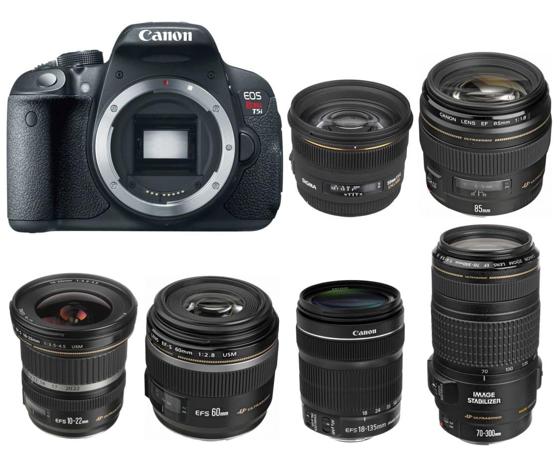 Top Canon Rebel T5i Lenses | The Best Compatible Lenses For Canon T5i