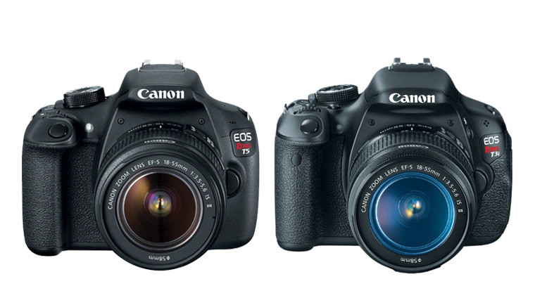 Canon Rebel T5 - 1200D vs T3i - 600D