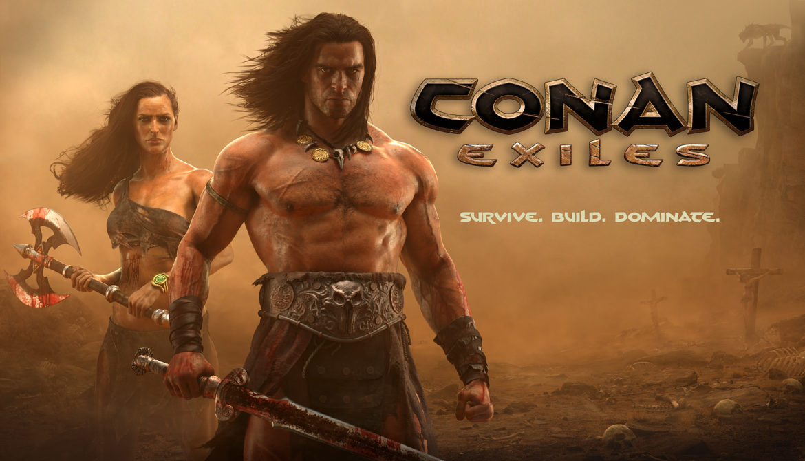 Conan Exiles - open world fantasy rpg