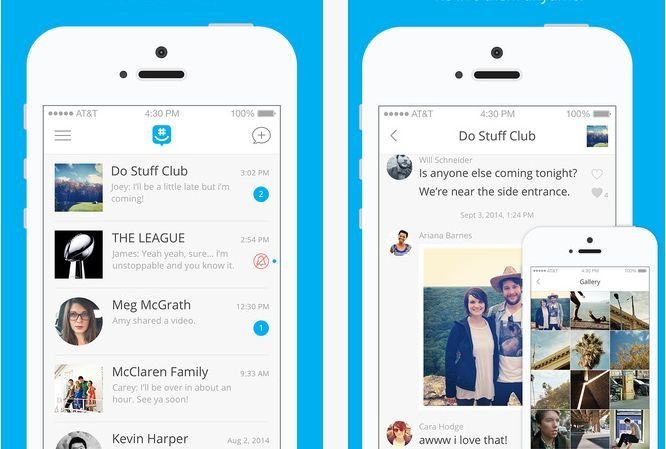 GroupMe - something like Kik
