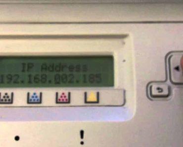 IP Address on Printer - How To Get Printer IP Address