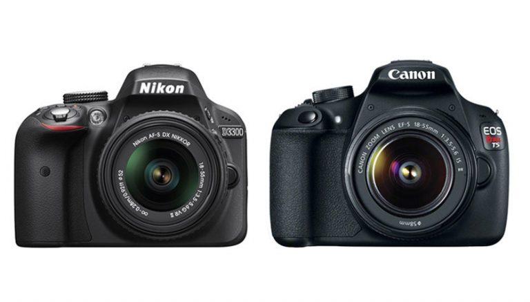 Nikon D3300 vs Canon T5