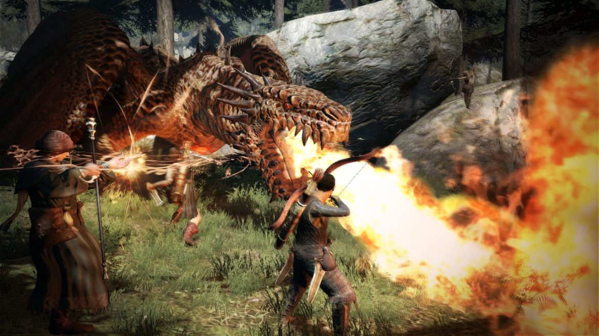 dragons dogma - fantasy games like skyrim