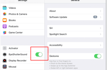 Disable iPhone Camera Sound - Turn off camera sound iPhone Tutorial