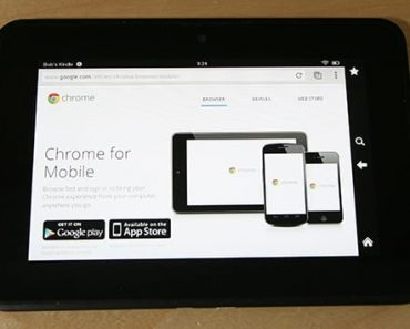 how to install chrome kindle