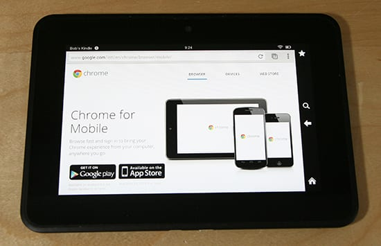 Install Google Chrome Via APK