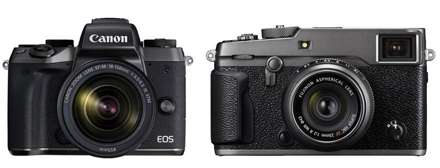 Canon M5 vs Fujifilm X-Pro2