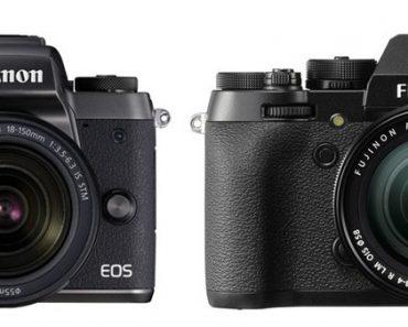 Canon M5 vs Fujifilm X-T2 – Comparison