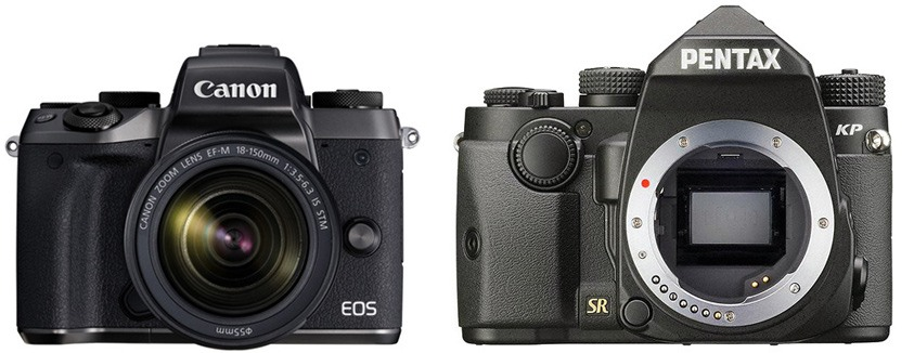 Canon M5 vs Pentax KP