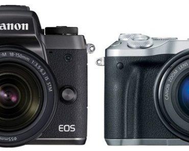 Canon M5 vs Canon M6