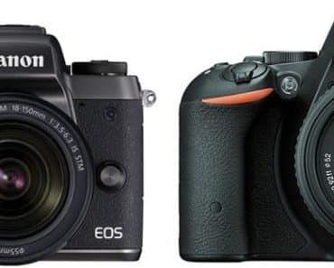 Canon M5 vs Nikon D5500