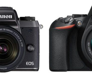Canon M5 vs Nikon D5600