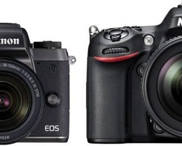 Canon M5 vs Nikon D7100