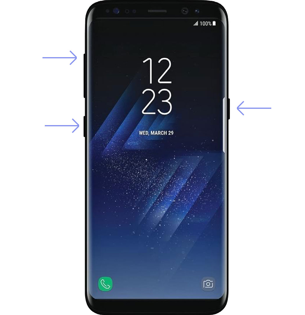 how to boot Galaxy S8 recovery mode