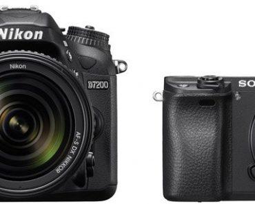 Nikon D7200 vs Sony A6300