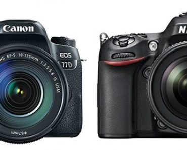 Canon 77D vs Nikon D7100 – Comparison