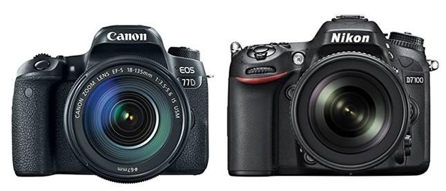 Canon 77D vs Nikon D7100 – Comparison