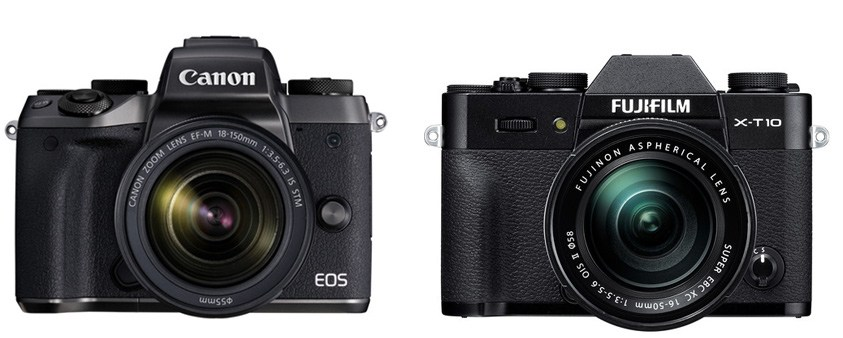 Canon M5 vs Fujifilm X-T10 – Comparison