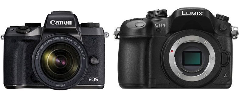 Canon M5 vs Panasonic GH4 – Comparison