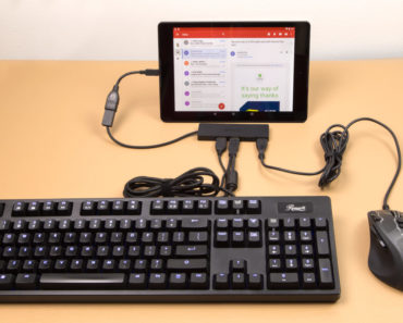 How To Connect Keyboard & Mouse To Android