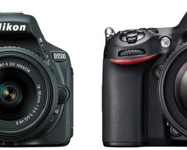 Nikon D5500 vs Nikon D7100 – Comparison