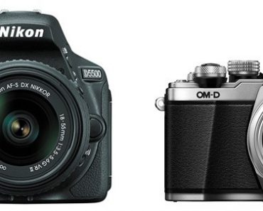 Nikon D5500 vs Olympus E-M10 II – Comparison