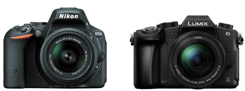 Nikon D5500 vs Panasonic G85: Pics, Videos, Reviews, Comparison
