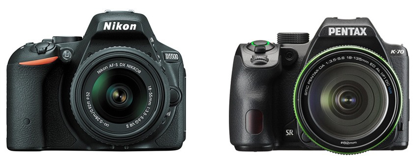 Nikon D5500 vs Pentax K-70 – Comparison