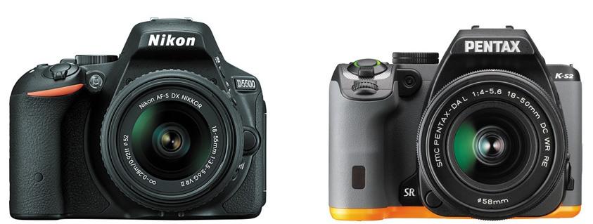 Nikon D5500 vs Pentax K-S2 – Comparison
