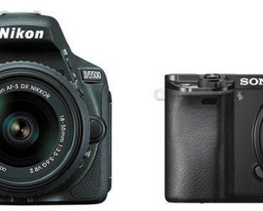 Nikon D5500 vs Sony A6000 – Comparison