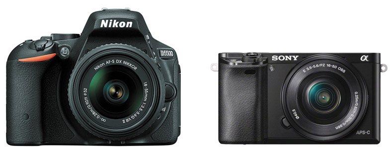 Nikon D5500 vs Sony A6000 – Comparison
