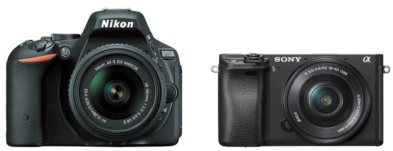 Nikon D5500 vs Sony A6300 – Comparison