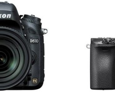Nikon D610 vs Sony A6500 – Comparison