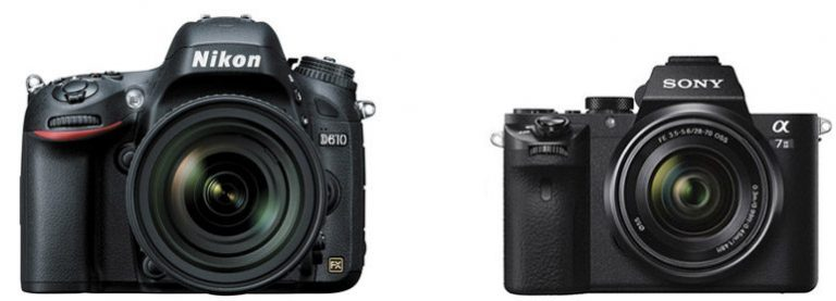 Nikon D610 vs Sony A7 II – Comparison