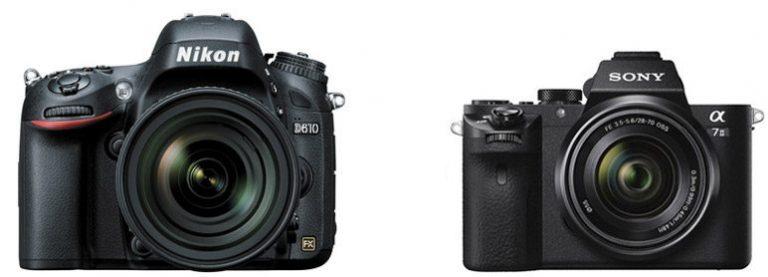 Nikon D610 vs Sony A7 II – Comparison