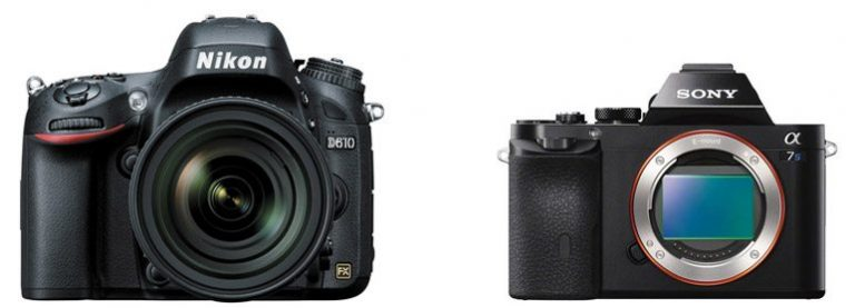 Nikon D610 vs Sony A7S II – Comparison