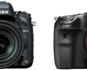 Nikon D610 vs Sony A99 II – Comparison