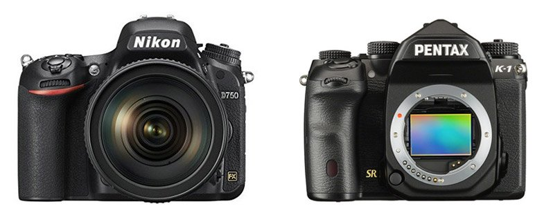 Nikon D750 vs Pentax K-1 – Comparison