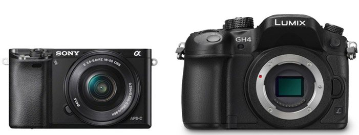 Sony A6000 vs Panasonic GH4 – Comparison