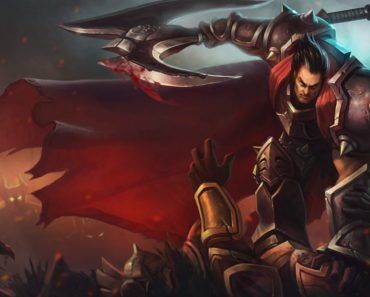 Darius in his regular skin. This image is part of an article that teaches how to counter Darius in any lane.