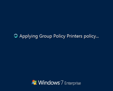 Stuck At Applying Group Policy On Windows Server