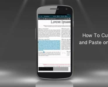 How To Copy And Paste On Android Phone