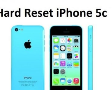 How To Reset An iPhone 5C - Soft Reset & Factory Reset