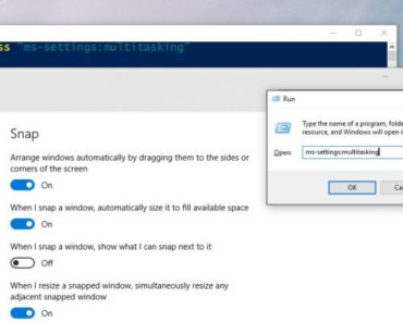 Open Up Settings - Open Windows 10 Settings App Via Command Prompt, Powershell, Run Dialogue