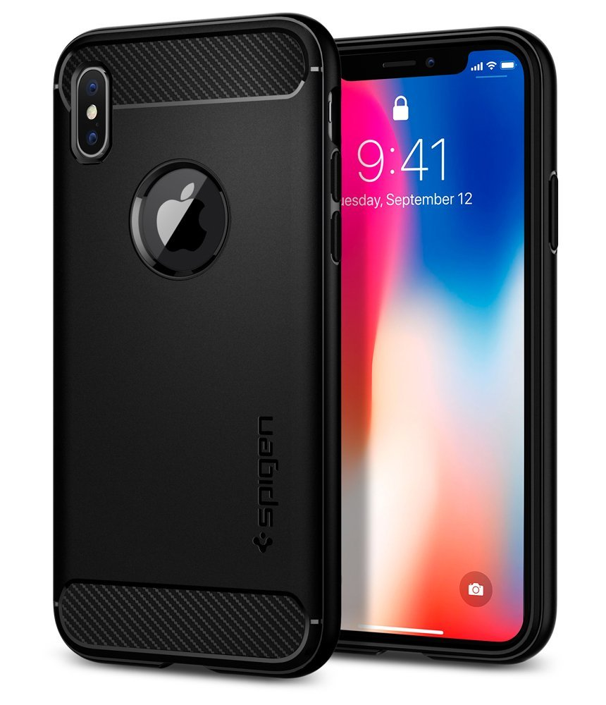Spigen Rugged Armor iPhone X Case