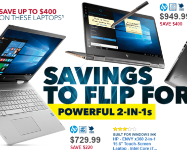 The Best Deals HP Laptops, Black Friday, Cyber Monday Deals