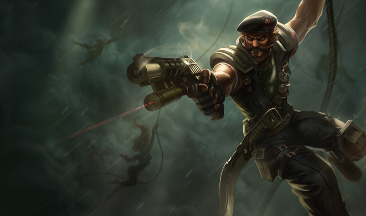 counter Gangplank, Gangplank counter plays, Gangplank counters