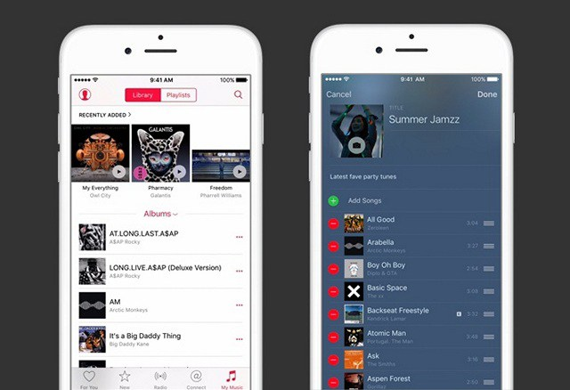 Apple-Music- apps that play music offline