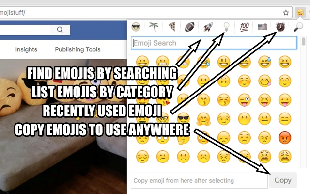 GetEmojis Plugin For Google Chrome